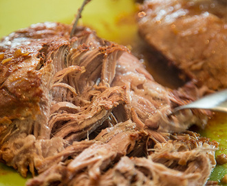 Pulled Pork i slow cookern