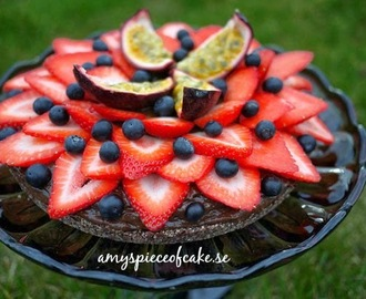 Raw Food Chocolate Mousse Cake