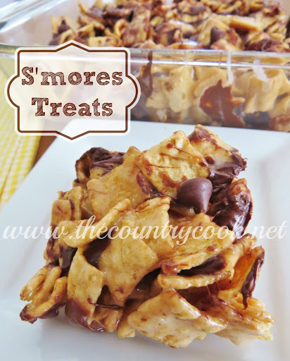Gooey S'mores Treats