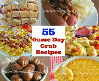 Game Day Grub {55 Super Bowl Recipes}