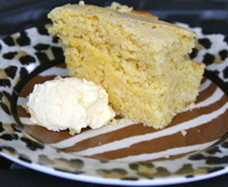 Sweet Yellow Cornbread Recipe