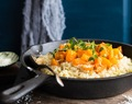 BUTTERNUT SQUASH RISOTTO WIH THYME