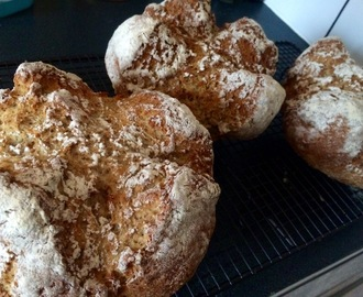 Irish buttermilk soda bread , so simple indeed! You need this in your life or kitchen at least!