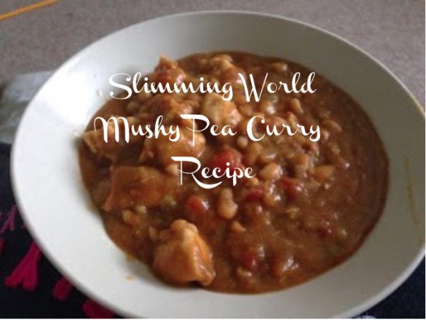 Slimming World Recipe Week – Slimming World Mushy Pea Curry Recipe
