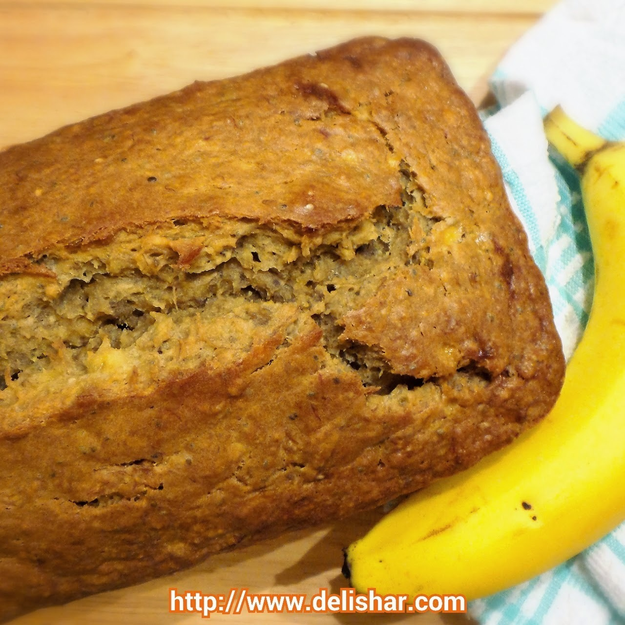 Chia Seeds Banana Bread