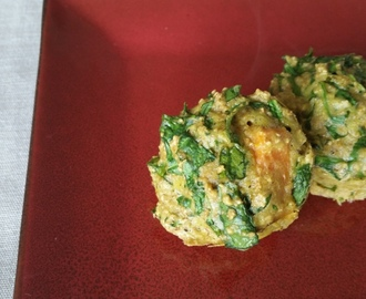 Sweet potato and spinach muffins (gluten free, dairy free, sugar free, oil free)