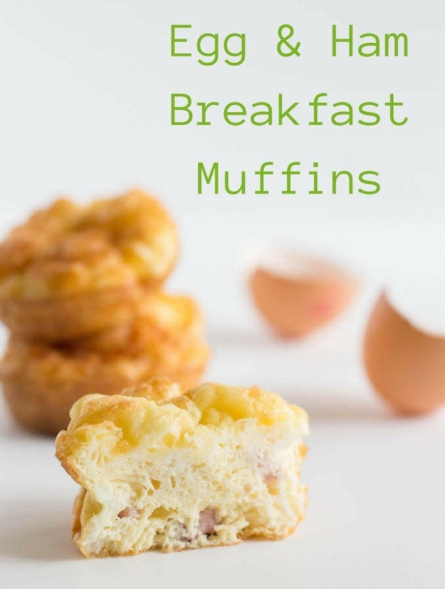 Egg and Ham Breakfast Muffins