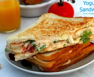 Yogurt Sandwich
