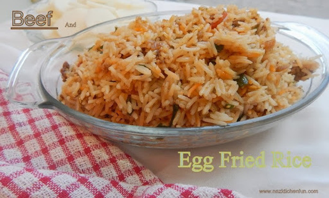 Beef and Egg Fried Rice made Easy