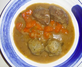 Pork Cheeks Braised in Cider with Rosemary Dumplings Recipe