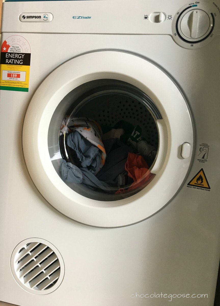 Out with the Old, in with the New…tumble drier