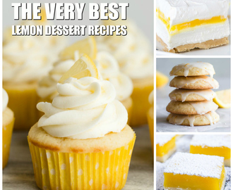 The Best Lemon Dessert Recipes