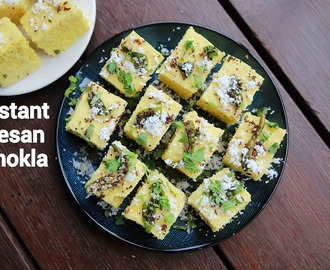 dhokla recipe | khaman dhokla | how to make instant khaman dhokla