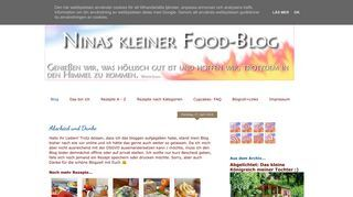 Ninas kleiner Food-Blog