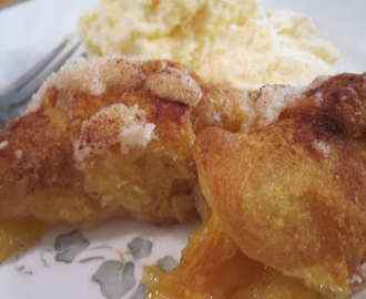Apple Dumpling Bake with Mt. Dew Sauce