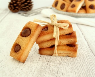 Mini financiers aux Schokobons