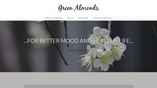 - Green almonds
