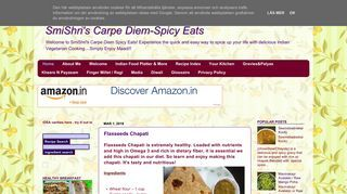Carpe Diem-Spicy Eats
