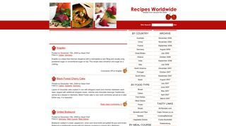 Recipesworldwide.org