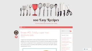 100 Easy Recipes