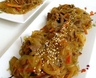 Korean Influenced Stir Fry Glass Noodles