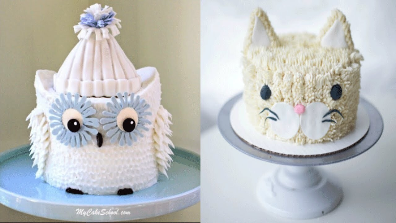 Top 100 Amazing Birthday Cake Decorating Ideas - Oddly Satisfying Cake Decorating & Cake Style 2018