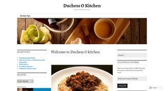 Duchess O Kitchen