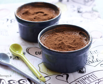 Mousse al cioccolato con 2 ingredienti