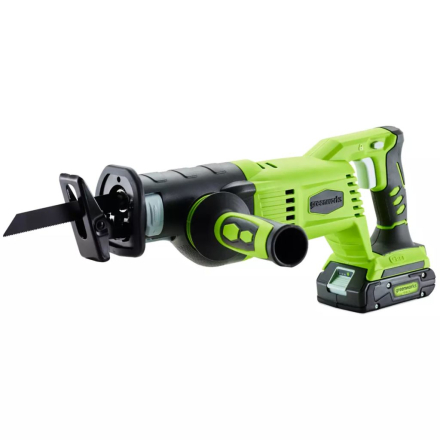 Greenworks Tigersåg utan 24 V-batteri G24RS 1200007