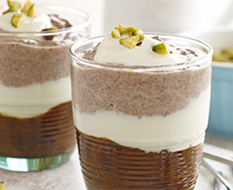Prunes and Dark Chocolate Party Mousse Recipe