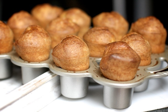 Recipe for Popovers.  And preparing for a move to London.