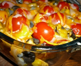 recettes de nachos gratin s avec salsa mytaste. Black Bedroom Furniture Sets. Home Design Ideas