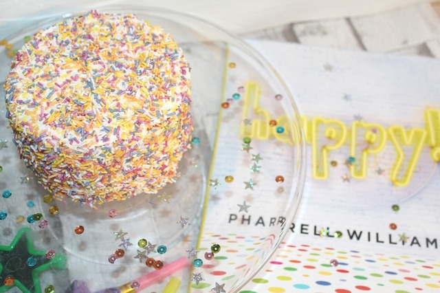 Sprinkle Cake Recipe And A Happy Book Review