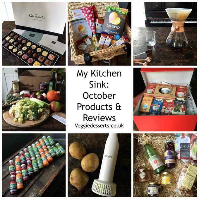 My Kitchen Sink: October's Products and Reviews