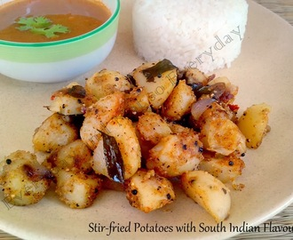 Stir-Fried Potatoes with South Indian Flavours