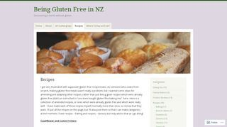 Being Gluten Free in NZ