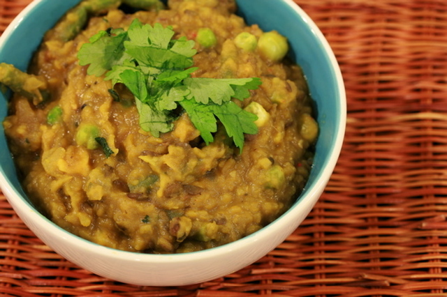 Vegetarian Dhansak Recipe