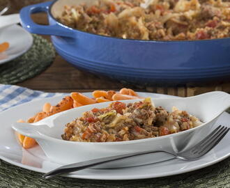 Hearty Beef & Cabbage Skillet