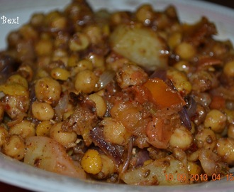 Chick peas 2 (Chana Chaat)