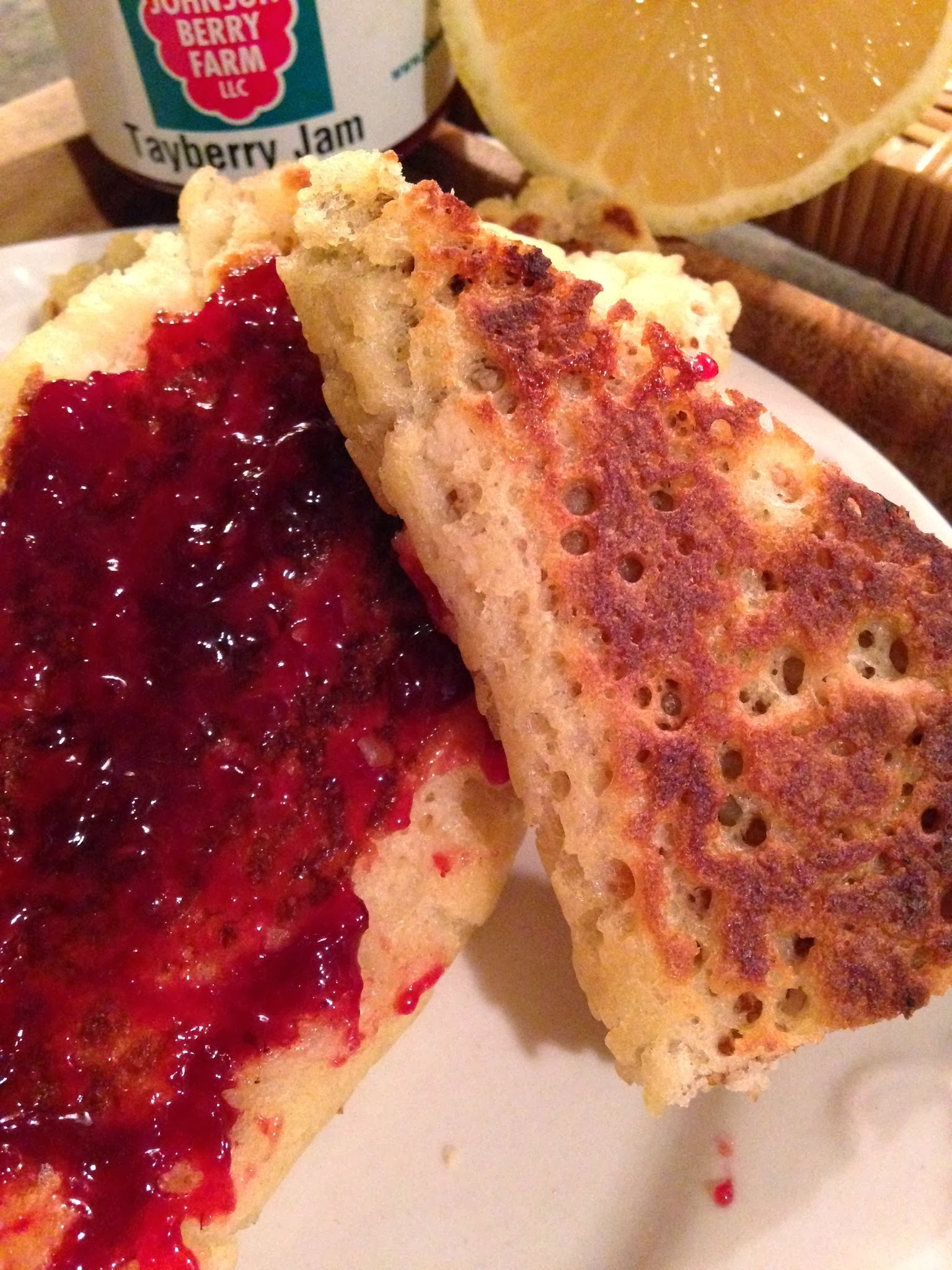 Sourdough Blintzes