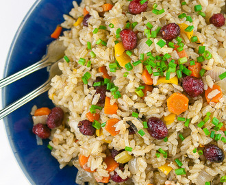 I Heart Circulon GIVEAWAY plus Sage and Cranberry Rice Pilaf!