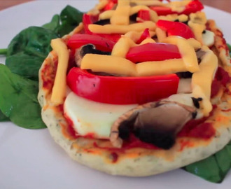 Pizza vegan maison / Home made vegan pizza