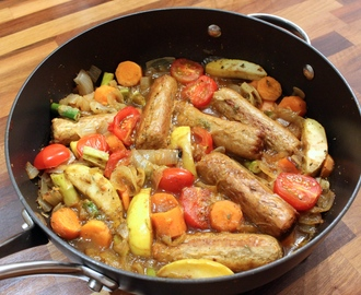 Quorn Meat Free Sausage & Apple Stew