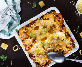 Nudel Gratin mit Zucchini-Möhre-Hack Lieblings Bolognese !Achtung Suchtgefahr!