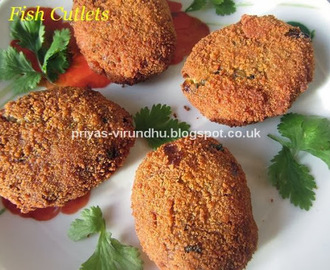 Fish Cutlets/Fish Patties/Fish Cakes