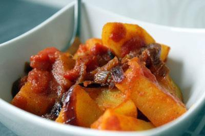 Gluten free Bombay potato recipe