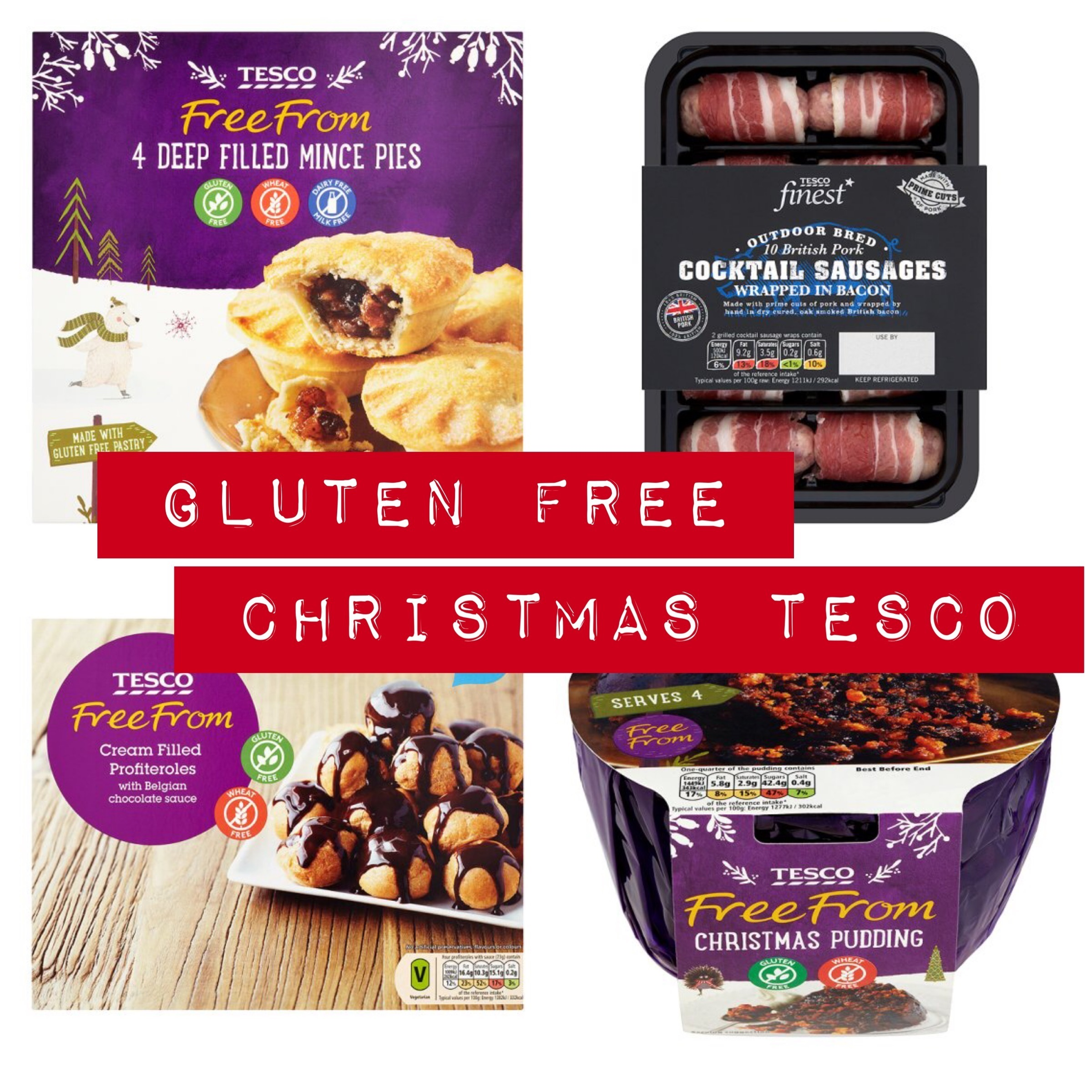 What Gluten Free Christmas Products are Tesco selling this year?