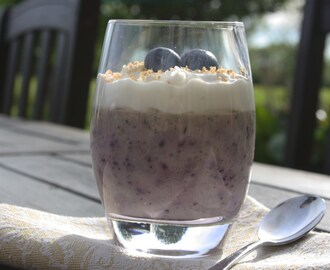 Blueberry Chia Dessert