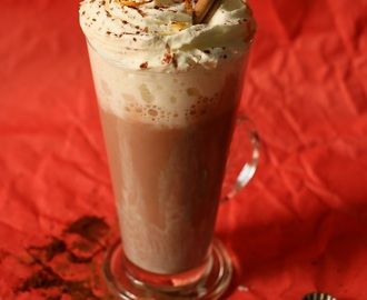 Hot Chocolate With Orange Zest