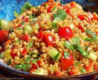 Wheat Berry Salad (Meatless Monday)